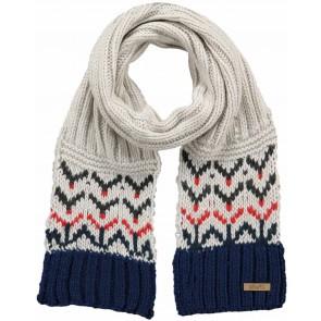 Barts kids scarf sjaal Oakland in de kleur blauw/rood