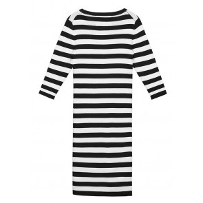 NIK&NIK Jolie dress jurk met strepen in de kleur zwart/wit
