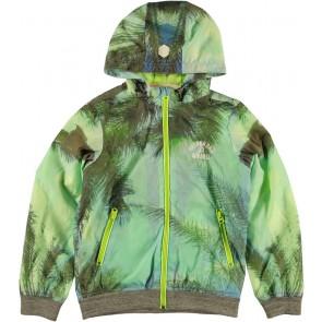 Retour jeans zomerjas Ves met capuchon in de kleur groen