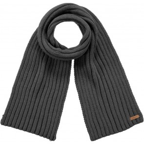 Barts kids sjaal Gowan scarf in de kleur dark heather grijs