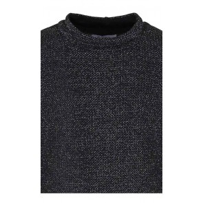 D-xel offshoulder glitter jurk Kristi in de kleur zwart