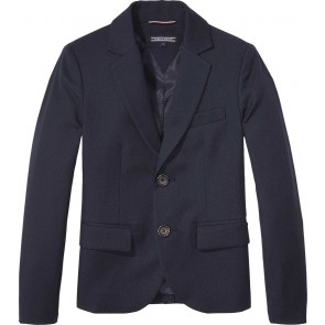 Tommy Hilfiger blazer Communion in de kleur navy blue donkerblauw