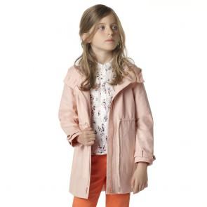 Carrément Beau trenchcoat jas in de kleur roze