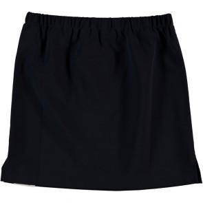 Penn en Ink rok van travel material in de kleur zwart
