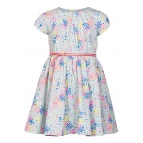 Le Big jurk met stippen in de kleur lichtblauw