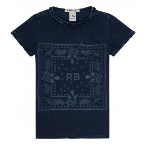 Scotch R'belle shirt met print in de kleur donkerblauw