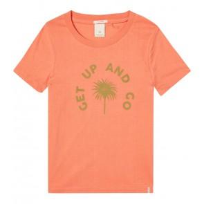 Scotch R'belle shirt get up and go in de kleur oranje
