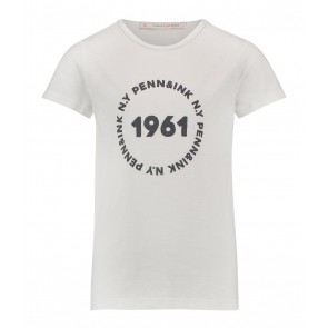 Penn en ink kids shirt 1961 in de kleur wit