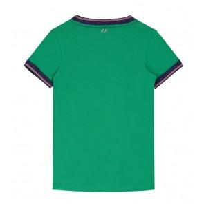 Nik en Nik Pearl t-shirt in de kleur bottle green groen